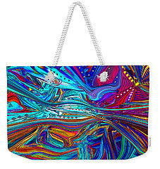 New Urban Galaxy Weekender Tote Bag