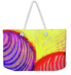 New Year Burn Weekender Tote Bag by Matt Lindley