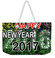 New Year Weekender Tote Bag