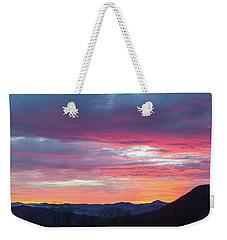 New Year Dawn - 2016 December 31 Weekender Tote Bag