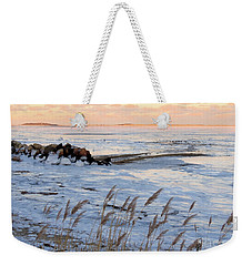 New Years Day At Dusk Weekender Tote Bag