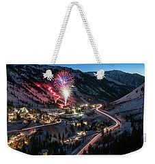 New Year's Eve At Snowbird Weekender Tote Bag