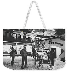 Weekender Tote Bag featuring the photograph New Years Eve- by JD Mims