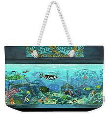 New York Aquarium Towel Version Weekender Tote Bag