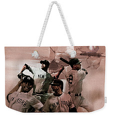 New York Baseball  Weekender Tote Bag by Gull G