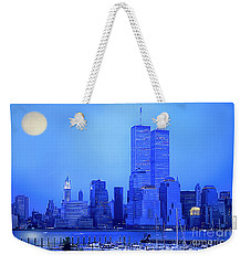 New York Blues Weekender Tote Bag