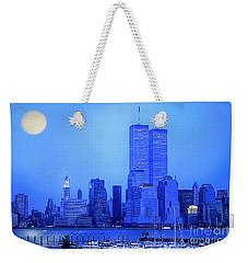 New York Blues Weekender Tote Bag