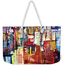 New York Cab Weekender Tote Bag
