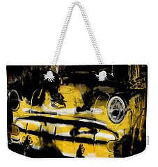 New York Cab Weekender Tote Bag by Kim Gauge