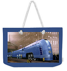 New York Central Weekender Tote Bag