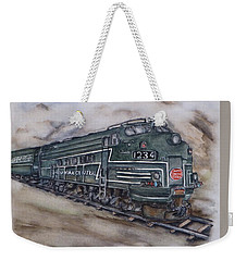 New York Central Train Weekender Tote Bag