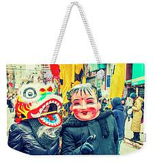 New York Chinatown Weekender Tote Bag