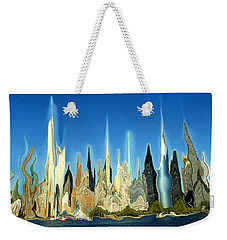 New York City 2100 - Modern Art Weekender Tote Bag