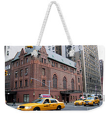 New York City Yellow Cab  - Amsterdam -  West Seventy Sixth Weekender Tote Bag