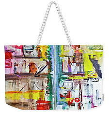 New York City Icons And Symbols Weekender Tote Bag