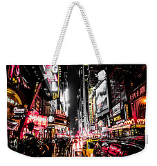 New York City Night II Weekender Tote Bag by Nicklas Gustafsson