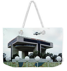 New York City Port Authority Helicopter Pad, New York World's Fa Weekender Tote Bag