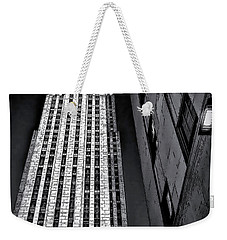 New York City Sights - Skyscraper Weekender Tote Bag by Walt Foegelle