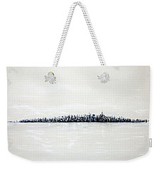 New York City Skyline 48 Weekender Tote Bag