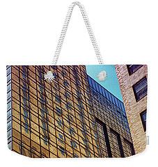 New York City Skyscraper Art 3 Weekender Tote Bag