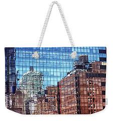 New York City Skyscraper Art 4 Weekender Tote Bag by Judi Saunders