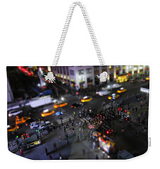 New York City Street Miniature Weekender Tote Bag