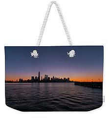 New York City Sunrise Weekender Tote Bag