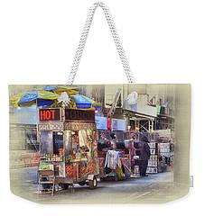New York City Vendor Weekender Tote Bag