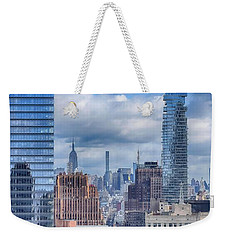 New York Cityscape Weekender Tote Bag
