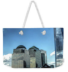 New York Financial District Weekender Tote Bag