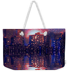 New York Weekender Tote Bag by Holly Martinson