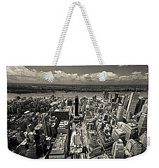 New York Husdon Weekender Tote Bag