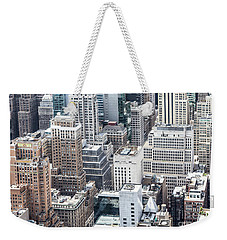 New York Midtown Weekender Tote Bag