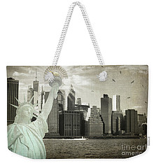 New York New York Da Weekender Tote Bag