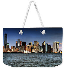 Weekender Tote Bag featuring the photograph New York New York by Tom Prendergast