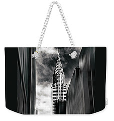 New York State Of Mind Weekender Tote Bag by Jessica Jenney