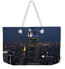 New York State Of Mind Weekender Tote Bag