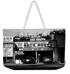 Weekender Tote Bag featuring the photograph New York Street Photography 69 by Frank Romeo