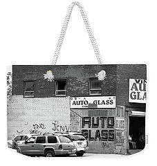 Weekender Tote Bag featuring the photograph New York Street Photography 70 by Frank Romeo