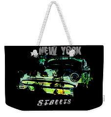New York Streets Weekender Tote Bag