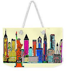 New York - The Big City Weekender Tote Bag