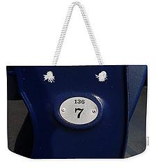 New York Yankee Seat Weekender Tote Bag by Rob Hans