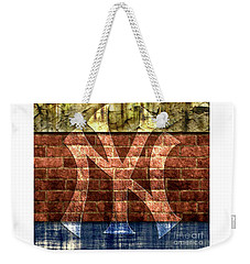 New York Yankees Brick 2 Weekender Tote Bag