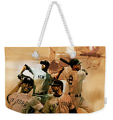 New York Yankees  Weekender Tote Bag by Gull G