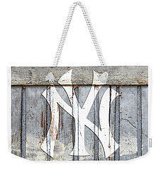 New York Yankees Rustic 2 Weekender Tote Bag