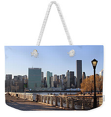New York's Skyline - A View From Gantry Plaza State Park Weekender Tote Bag