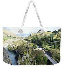 New Zealand Scene Weekender Tote Bag