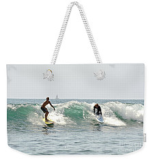 New Zealand Surf Weekender Tote Bag by Yurix Sardinelly