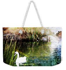 New Zealand Swan Weekender Tote Bag