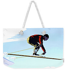 New Zealand Winter Sports Vintage Travel Poster Weekender Tote Bag
